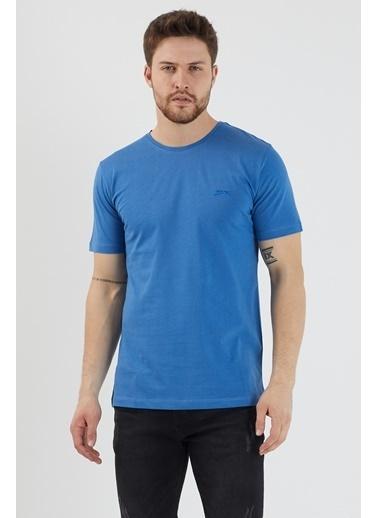 Slazenger Slazenger SANDER Erkek T-Shirt Indigo İndigo